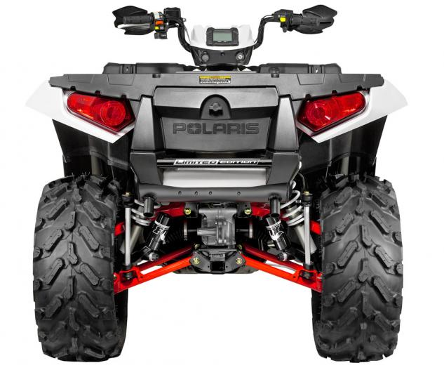 2014 Polaris Sportsman 850 XP EPS White Rear