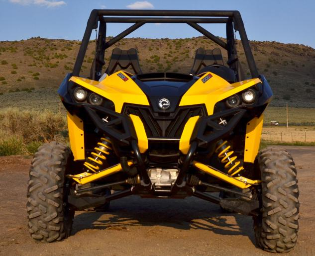 2013 Can-Am Maverick 1000R X rs Front