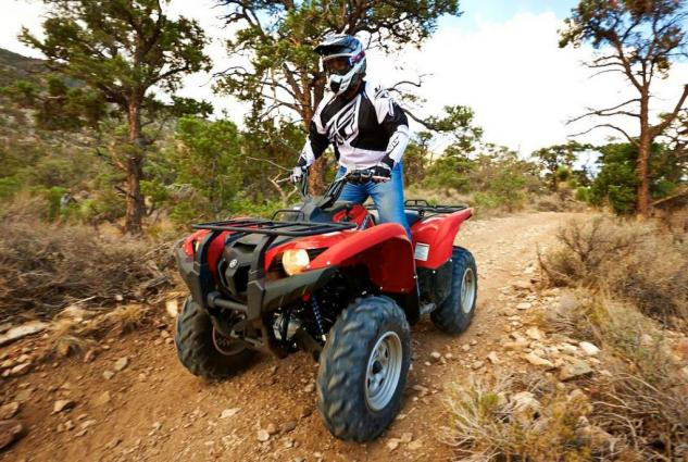 2014 Yamaha Grizzly 700 EPS Action Red