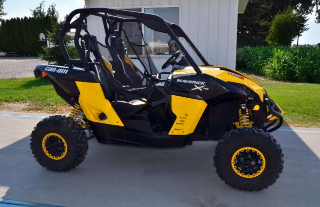 2013 Can-Am Maverick 1000 X rs Scale