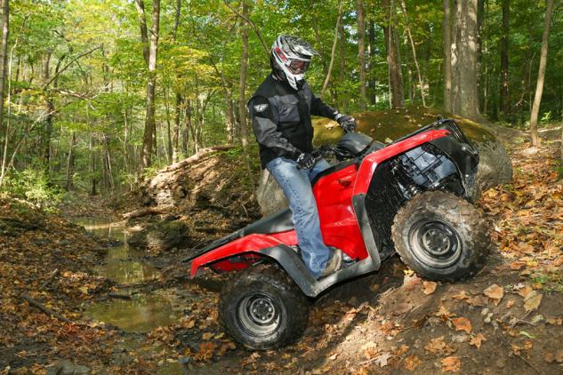 2014 Honda Rancher Action Climb