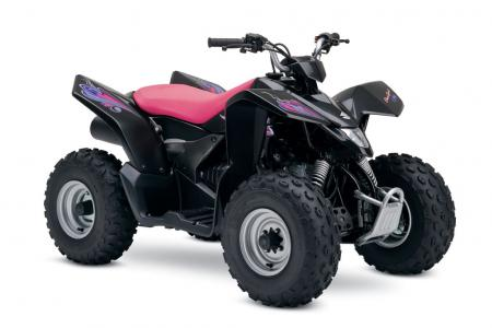 Suzuki's youth models look pretty in pink.