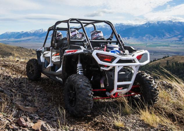 2014 Polaris RZR XP 4 1000 Action Rear