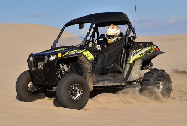Polaris RZR XP 900 Project Action Front Left