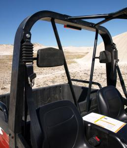 Arctic Cat redesigned the roll cage for 2009 and fitted the XTZ with 3-point seat belts.