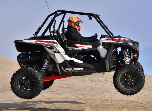 2014 Polaris RZR XP 1000 Action Jump Right
