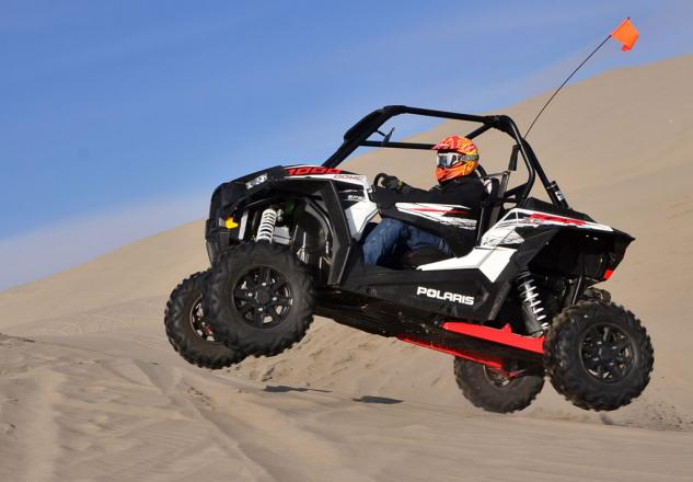 2014 Polaris RZR XP 1000 Action Jump Left