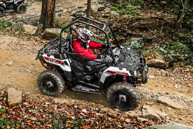 2014 Polaris Sportsman ACE Action Right