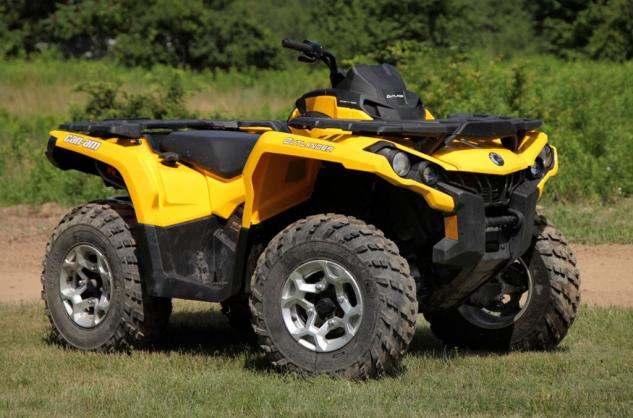 2014 Can-Am Outlander 500 Front Right