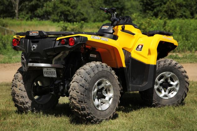 2014 Can-Am Outlander 500 Rear