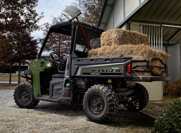 2014 Polaris Ranger Diesel HST Working