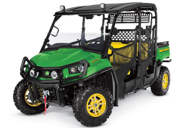 John Deere Side By Side >> 2014 John Deere Gator Xuv Lineup Preview Atv Com