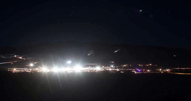 King of the Hammers at Night
