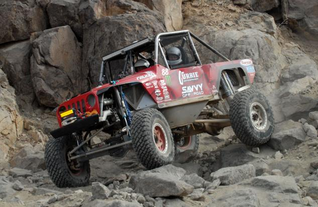King of the Hammers Everyman Challeng Winner John Currie