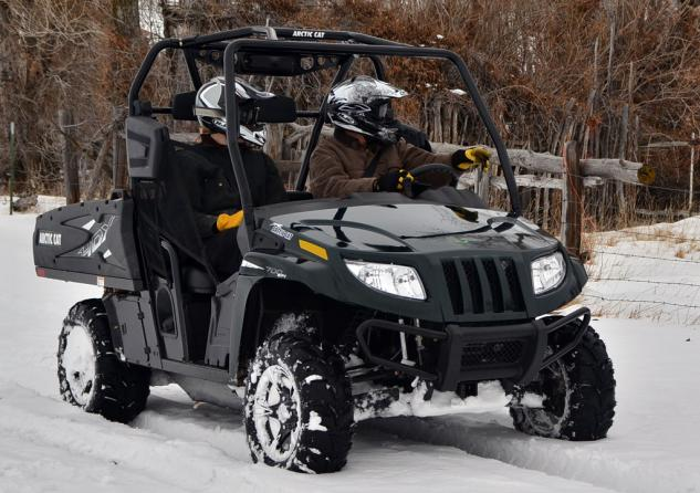 2014 Arctic Cat Prowler 700 HDX Limited Action Front