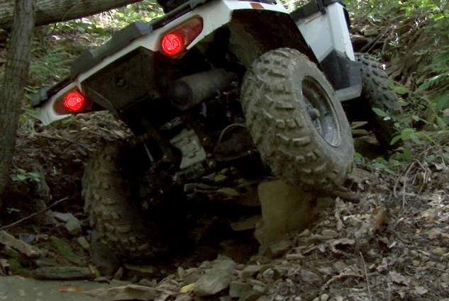 2014 Polaris Sportsman 570 Action Rear