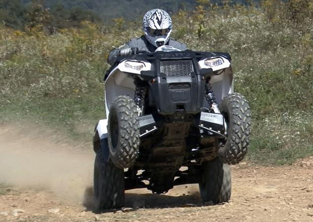 2014 Polaris Sportsman 570 Action Wheelie