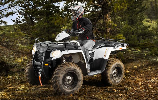 2014 Polaris Sportsman 570 Front Left