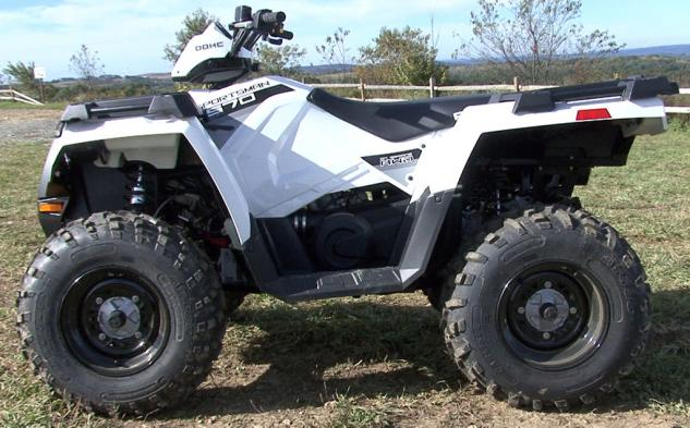 2014 Polaris Sportsman 570 Profile Left
