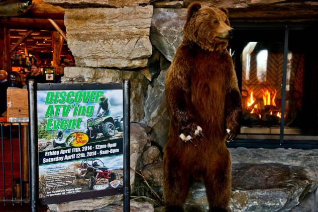 Bass Pro Discover ATVing Sign