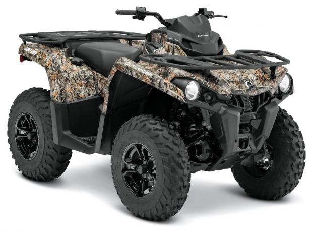 2015 Can-Am Outlander L 450 DPS Camo