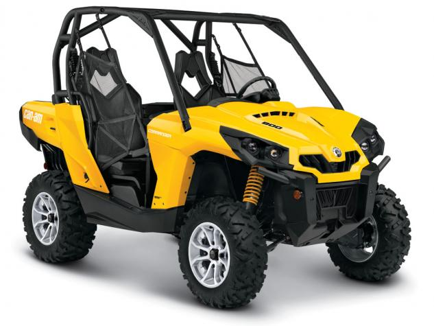 2015 Can-Am Commander 800R DPS Yellow