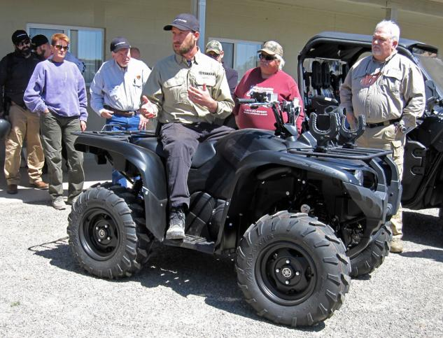 2014 Yamaha Grizzly 700 Tactical Black