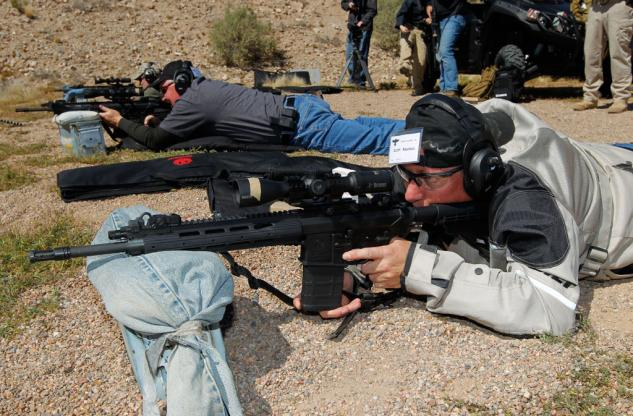 Ruger Rifle Target Practice