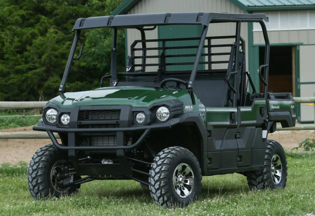 2015 Kawasaki Mule PRO-FXT Front Left