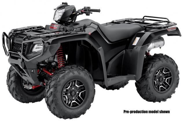 2015 Honda FourTrax Foreman Rubicon DCT Deluxe