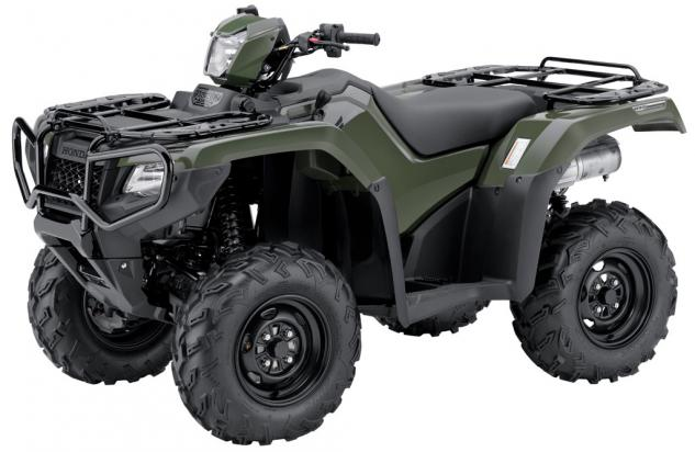 2015 Honda FourTrax Foreman Rubicon DCT Olive