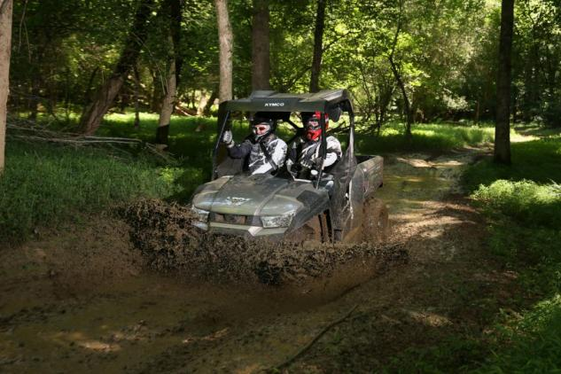 2015 Kymco UXV 450i LE Action Mud