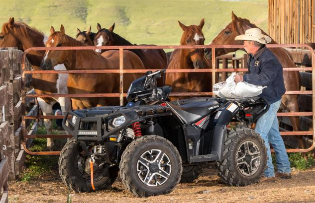 2015 Sportsman XP 1000 Cargo Racks