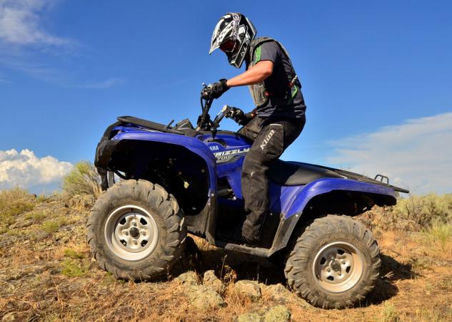 2014 Yamaha Grizzly 700 EPS Action Profile