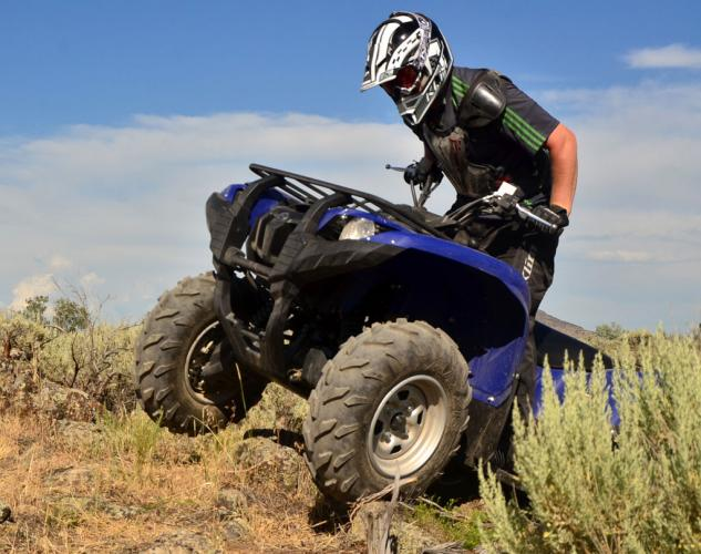 2014 Yamaha Grizzly 700 EPS Action Rock Crawling