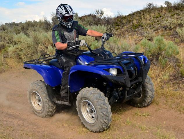 2014 Yamaha Grizzly 700 EPS Action Left