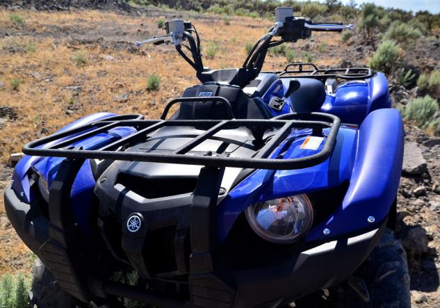 2014 Yamaha Grizzly 700 EPS Front