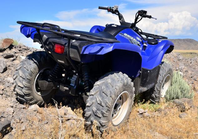 2014 Yamaha Grizzly 700 EPS Rear