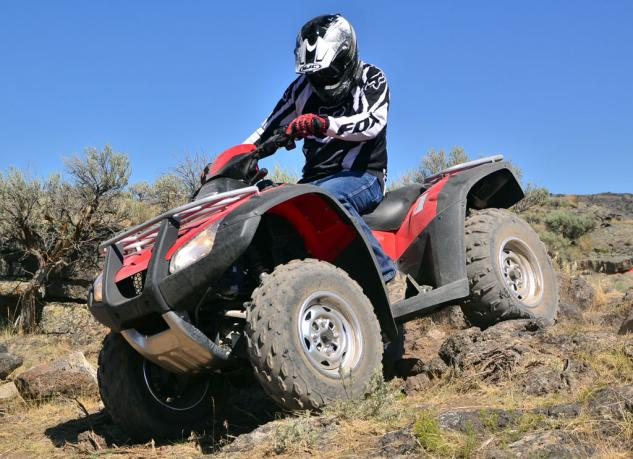 2014 Honda Rincon Action Rocks