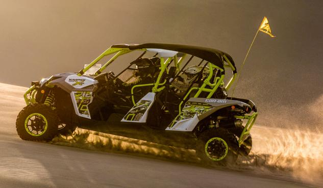 2015 Can-Am Maverick X ds MAX Turbo Action