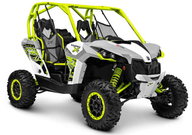 2015 Can-Am Maverick X ds Turbo Grey