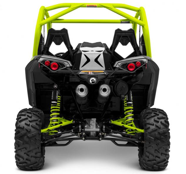 2015 Can-Am Maverick X ds Turbo Rear