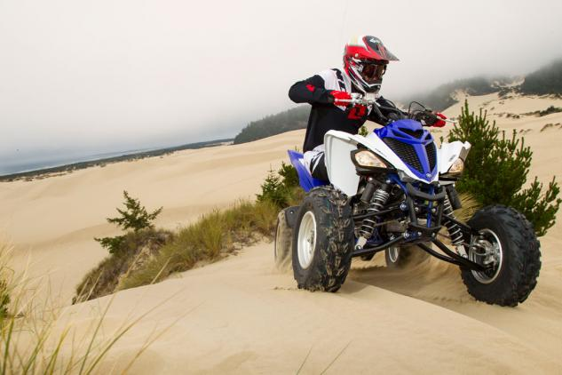 Beyond the extra power, Yamaha made modest changes to the Raptor 700R's suspension to improve handling.