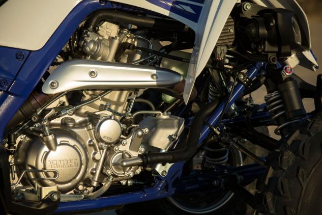 Yamaha squeezed about 10% more power out of the 686cc Single for 2015.