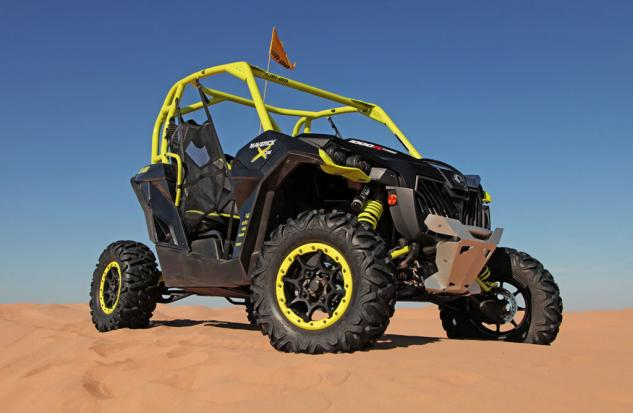 2015 Can-Am Maverick X ds Turbo Front Right