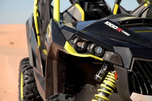 2015 Can-Am Maverick X ds Turbo Front Suspension