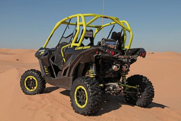 2015 Can-Am Maverick X ds Turbo Left Rear