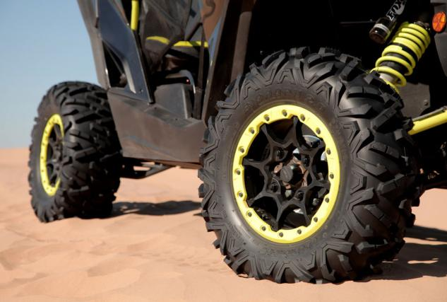 2015 Can-Am Maverick X ds Turbo Wheels