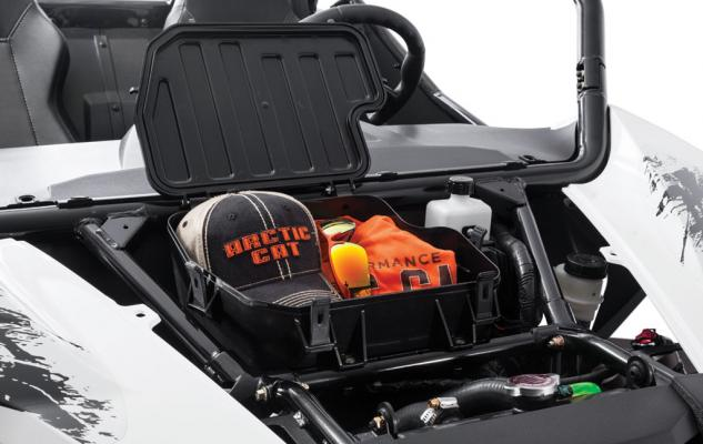 2015 Arctic Cat Wildcat Sport Under Hood Storage