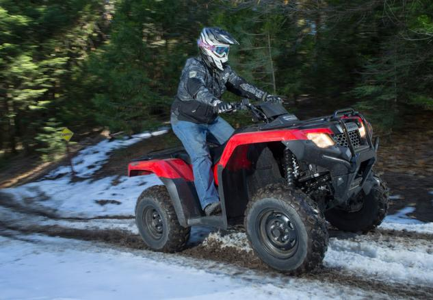 2015 Honda FourTrax Rancher Action 2